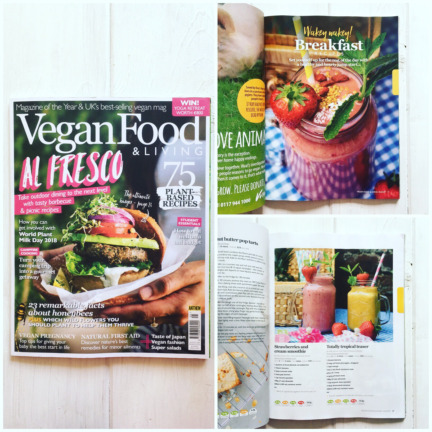 Vegan Food Living Magazine Hollyswholesomekitchen